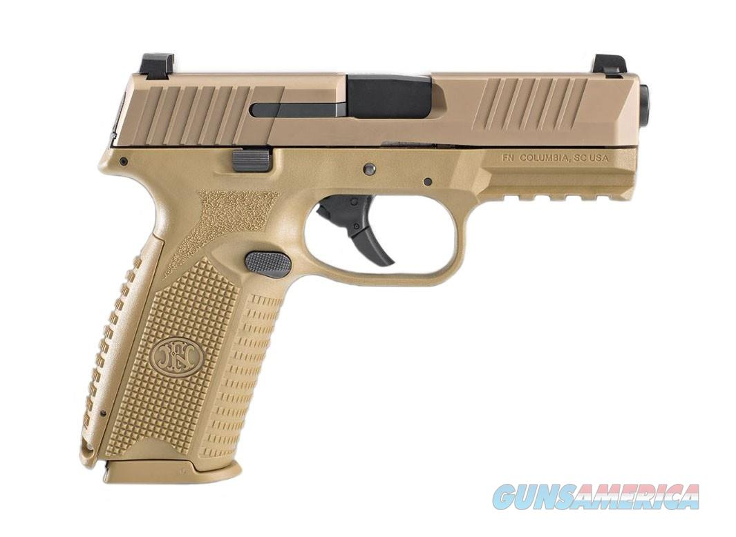 "FNH USA FN 509 9mm NMS FDE 4"" 17 Rds 66-100489  Guns > Pistols > FNH - Fabrique Nationale (FN) Pistols > FN 509"