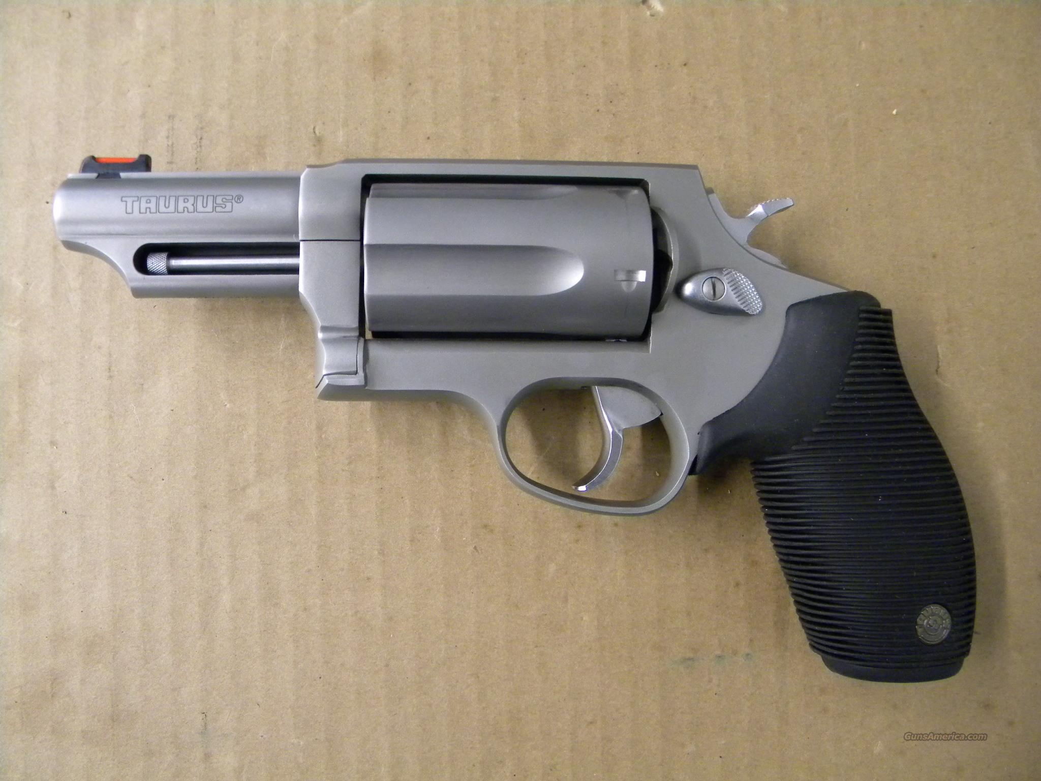 """Taurus Judge 2.5"""" Stainless .410/45 Colt for sale - photo#38"""