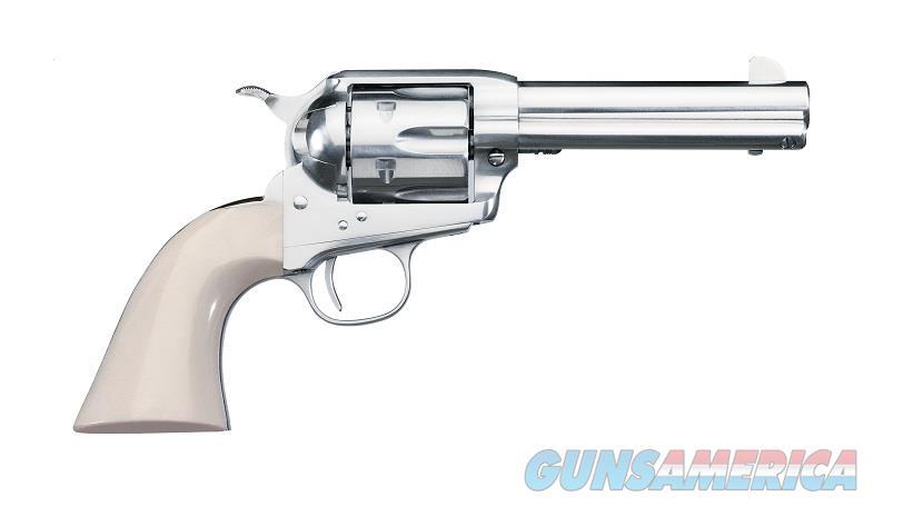 """Uberti SASS Pro Nickel .357 Magnum 4.75"""" 6-Shot 356N20   Guns > Pistols > Uberti Pistols > Ctg."""