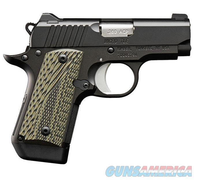 "Kimber Micro TLE (NS) .380 ACP 2.75"" 7 Rds 3300190   Guns > Pistols > Kimber of America Pistols > Micro"
