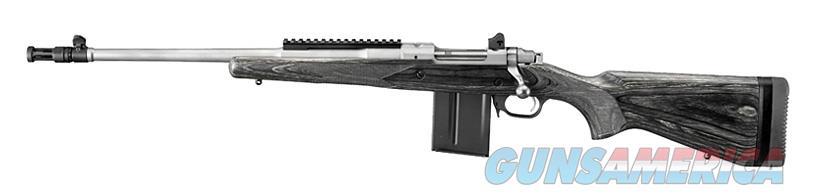 """Ruger Gunsite Scout .308 Win 18.7"""" Stainless Left-Hand 6821   Guns > Rifles > Ruger Rifles > Gunsite"""