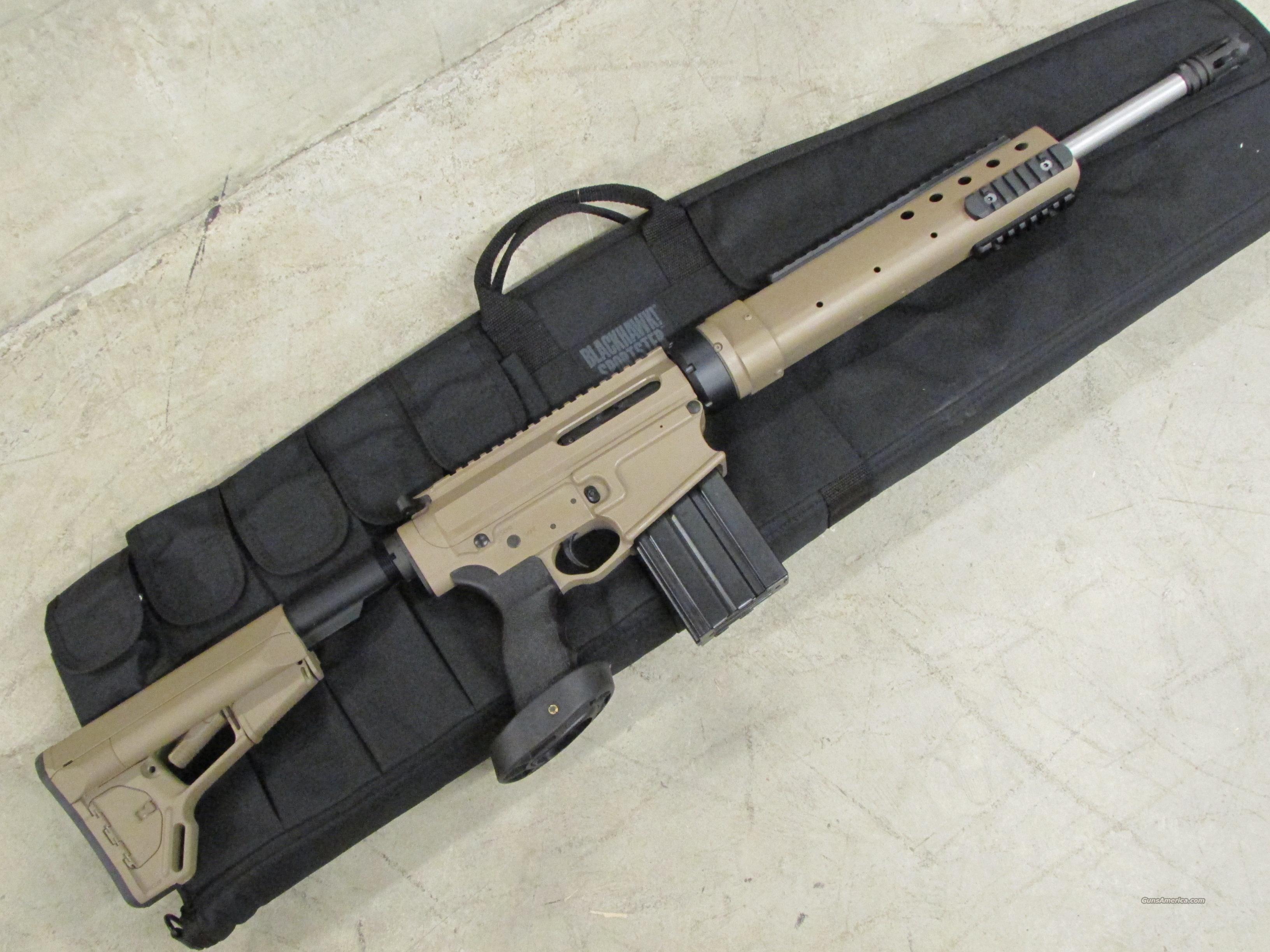 Intacto Arms Athena 3 Carbon Tac AR-10 .308 Win Cerakote FDE  Guns > Rifles > AR-15 Rifles - Small Manufacturers > Complete Rifle