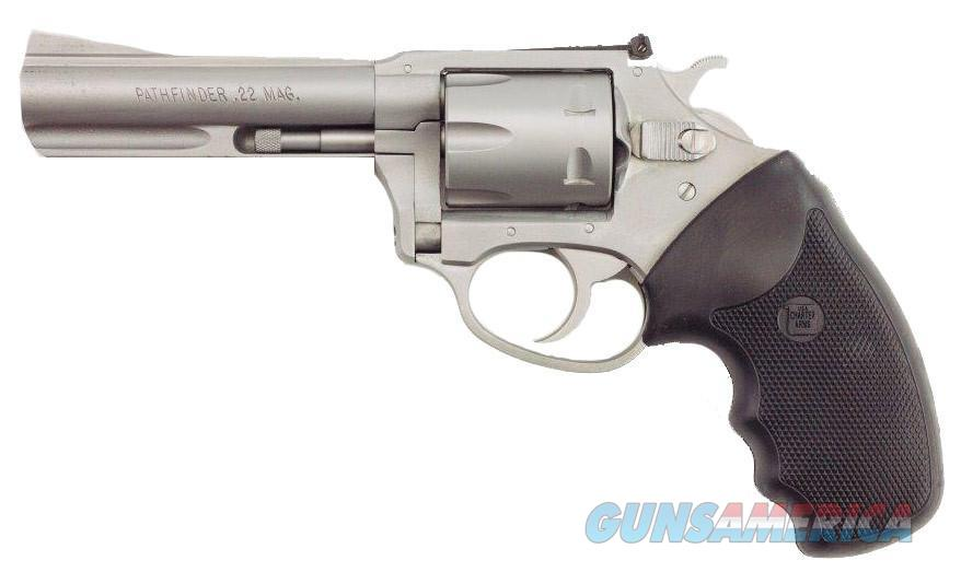 "Charter Arms Target Pathfinder .22 WMR 4.2"" Stainless 6-Shot 72342   Guns > Pistols > Charter Arms Revolvers"