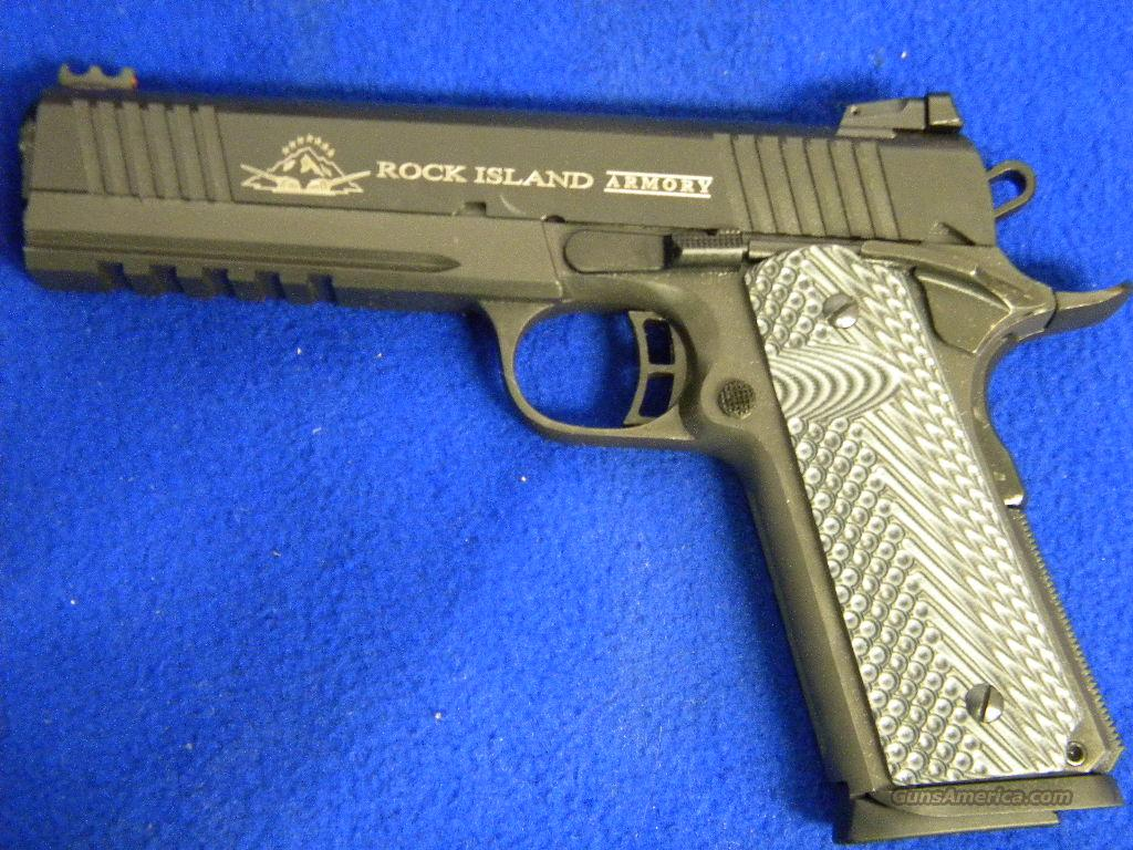 Rock Island Armory  Tactical With Rail For Sale