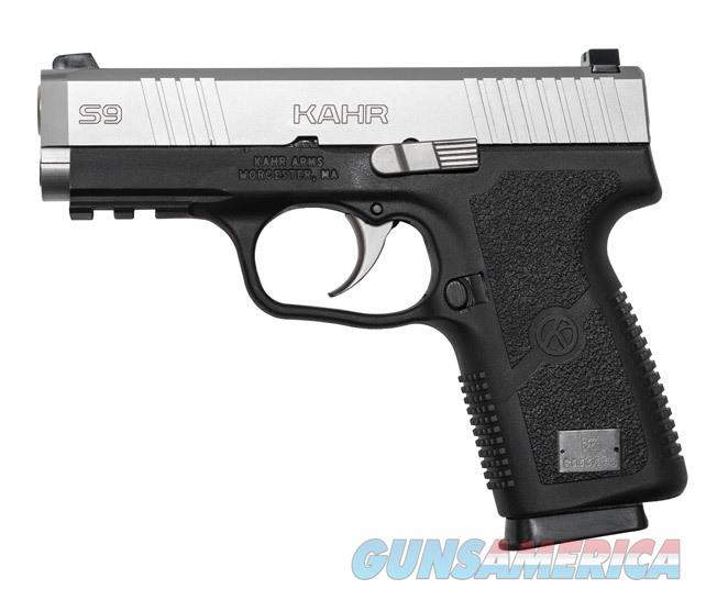 "Kahr Arms S9 9mm 3.6"" 7 Rounds Black/Stainless S9093   Guns > Pistols > Kahr Pistols"