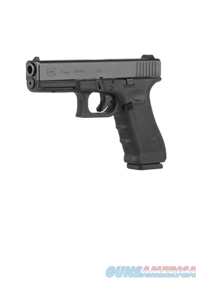 "Glock 17 Gen 4 9mm 4.48"" 17 Rounds PG1750203  Guns > Pistols > Glock Pistols > 17"