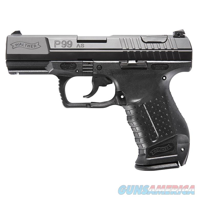 """Walther P99 AS 9mm 4"""" Black Tennifer 15rds 2796325   Guns > Pistols > Walther Pistols > Post WWII > P99/PPQ"""