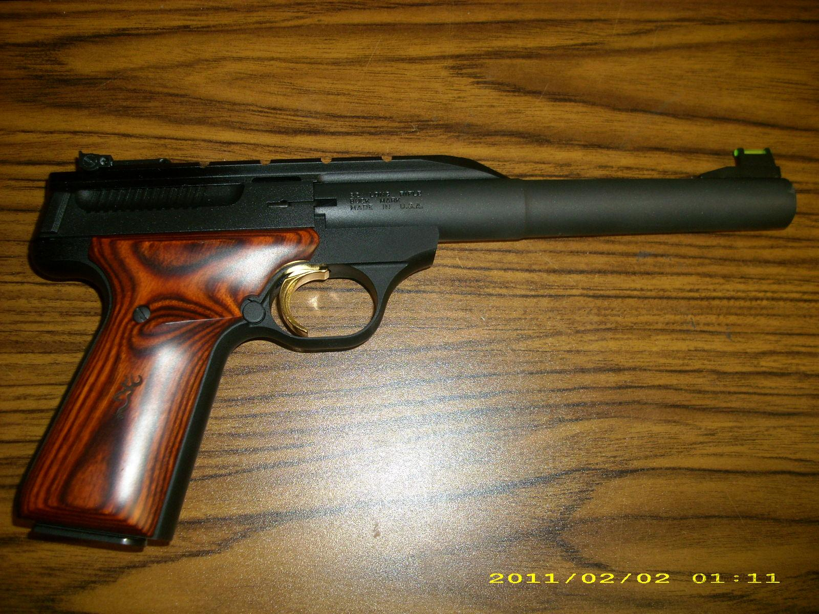Pa Sales Tax >> Browning Buckmark 22 LR Blued with Wood Grips for sale