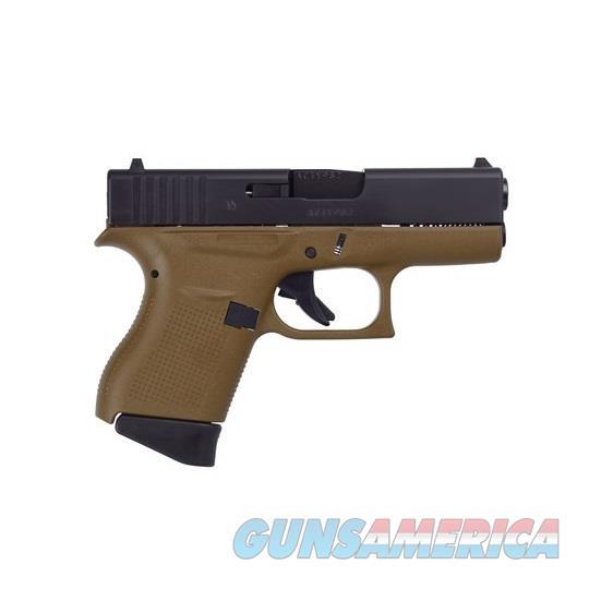 "Glock G43 9mm 3.39"" FDE/Black 6 Rds UI4350201D  Guns > Pistols > Glock Pistols > 43/43X"