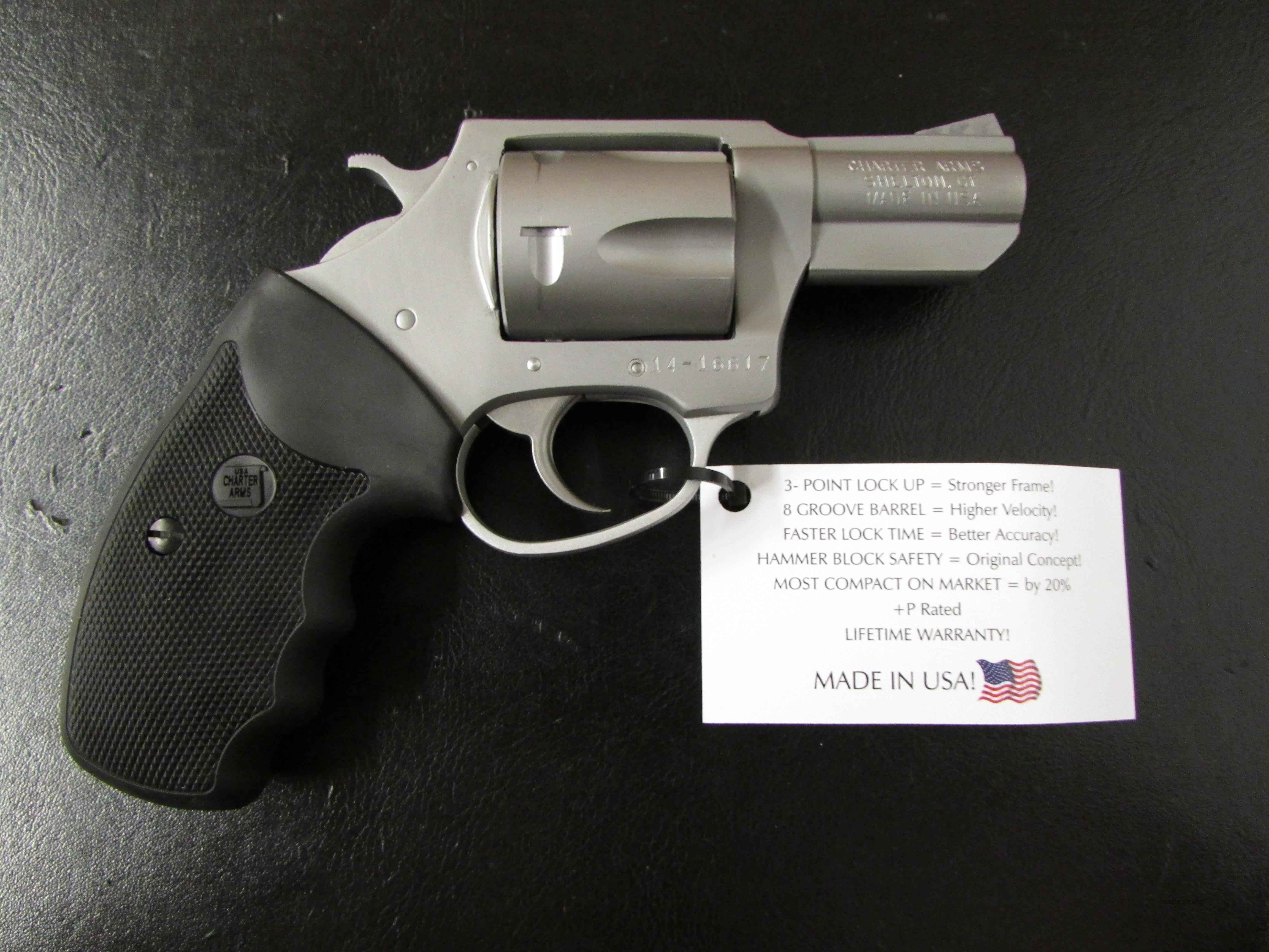 Charter Arms Mag Pug Stainless .357 Magnum  Guns > Pistols > Charter Arms Revolvers