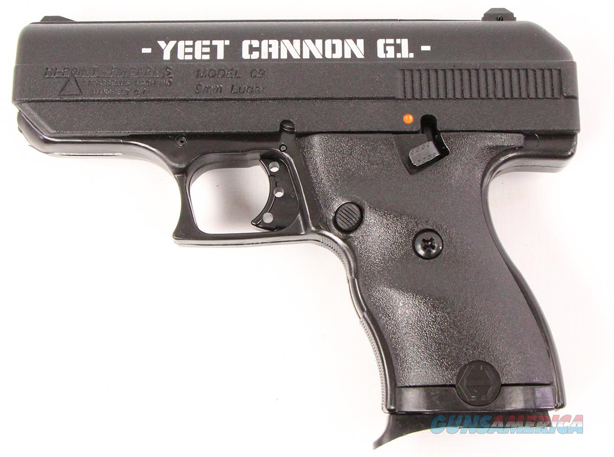 "Hi-Point C9 Yeet Cannon G1 9mm 3.5"" 8 Rds 916G1YC   Guns > Pistols > Hi Point Pistols"
