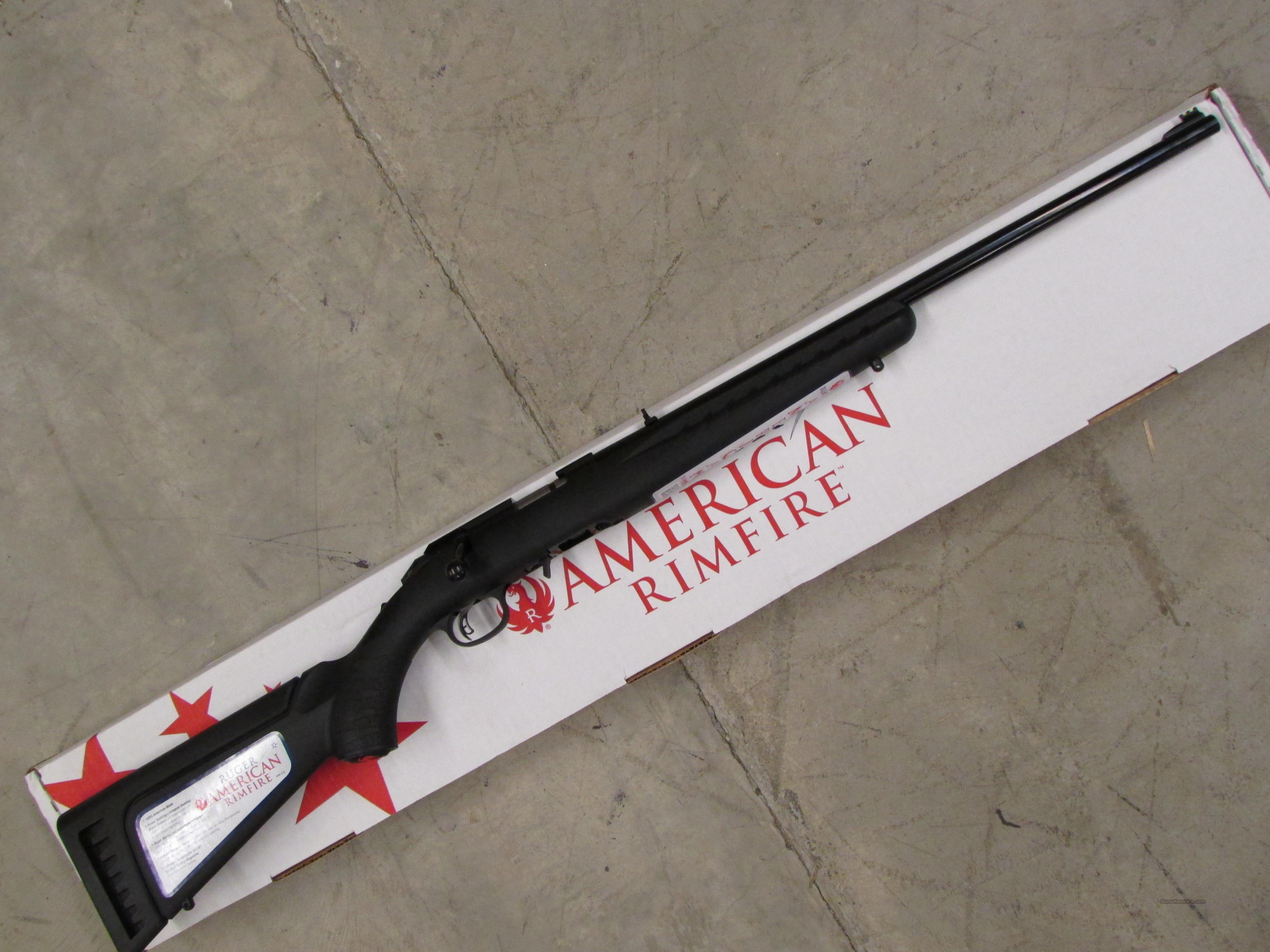 Ruger American Rimfire .22 Long Rifle 8301  Guns > Rifles > Ruger Rifles > American