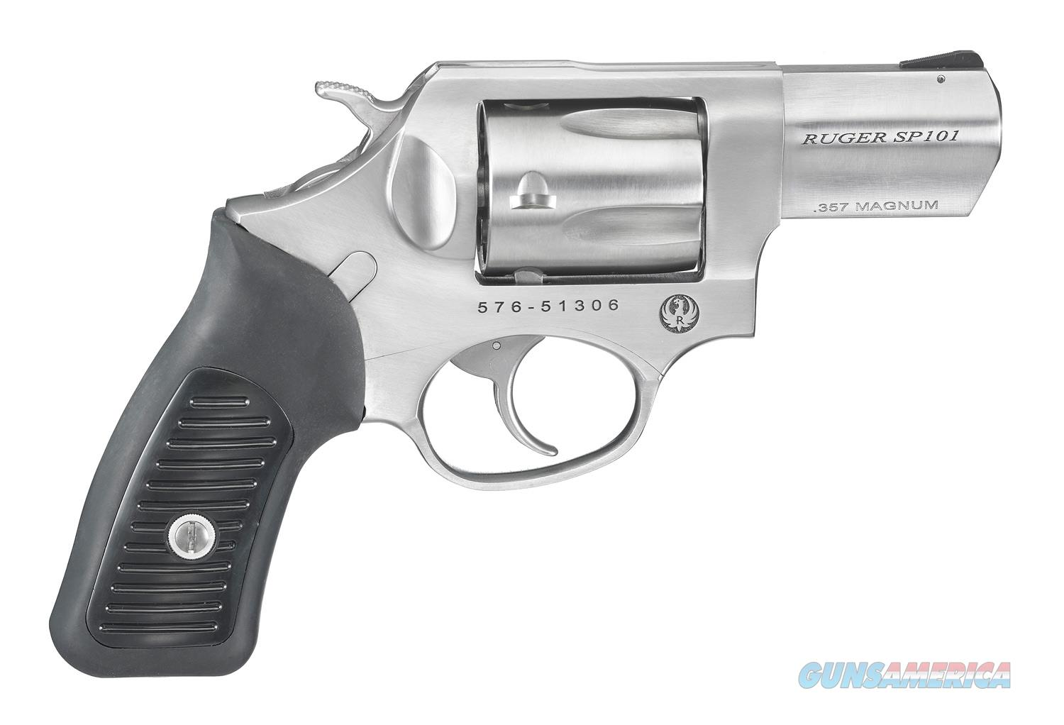 """Ruger SP101 .357 Magnum 2.25"""" SS 5 Rounds 5718   Guns > Pistols > Ruger Double Action Revolver > SP101 Type"""