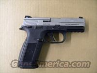 FNH FNS-9 Stainless 9mm with Night Sights  Guns > Pistols > FNH - Fabrique Nationale (FN) Pistols > FNP