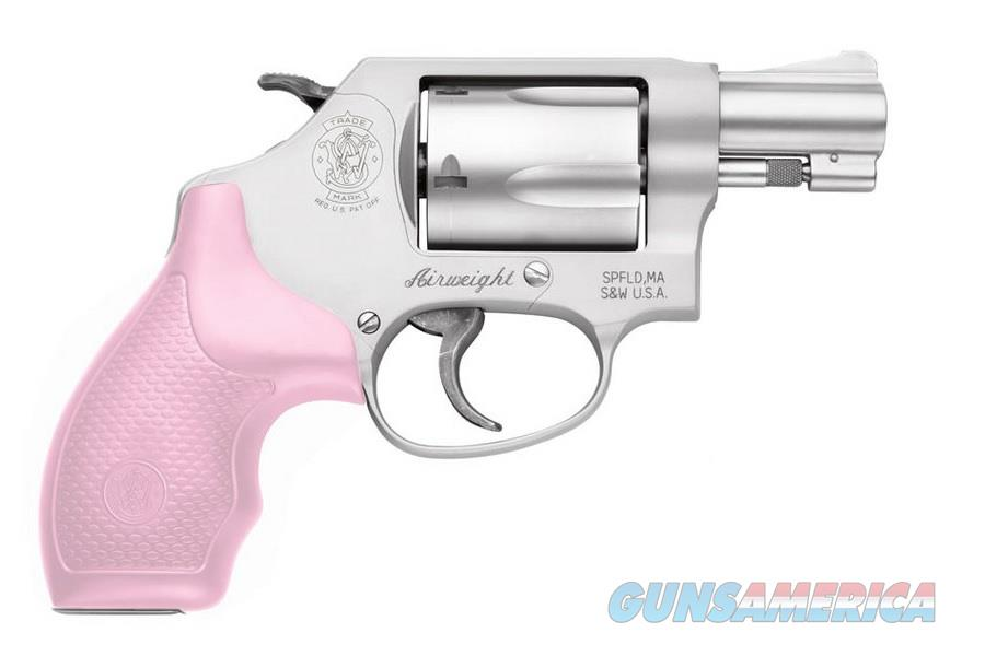 Smith & Wesson Model 637 AirWeight Pink Grips .38 Special 150467  Guns > Pistols > Smith & Wesson Revolvers > Full Frame Revolver