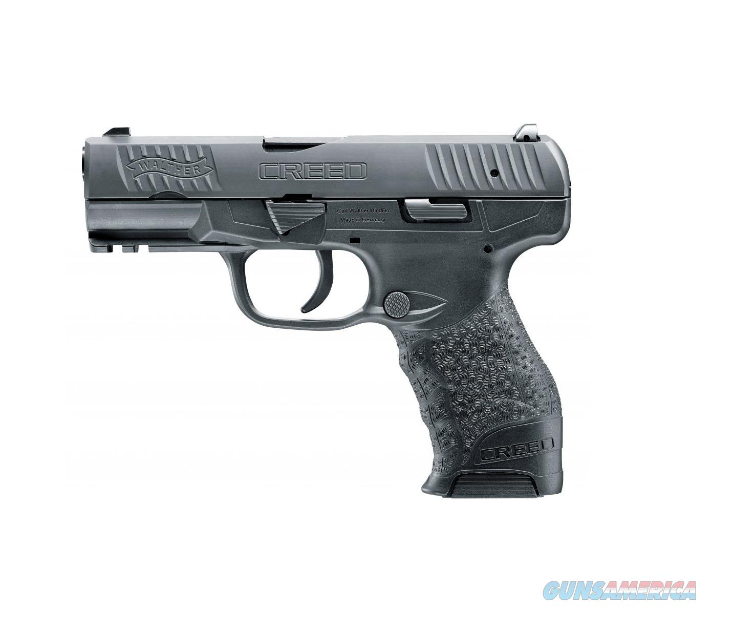 "Walther Arms Creed 9mm 4"" Barrel 16 Rounds 2815516   Guns > Pistols > Walther Pistols > Post WWII > P99/PPQ"
