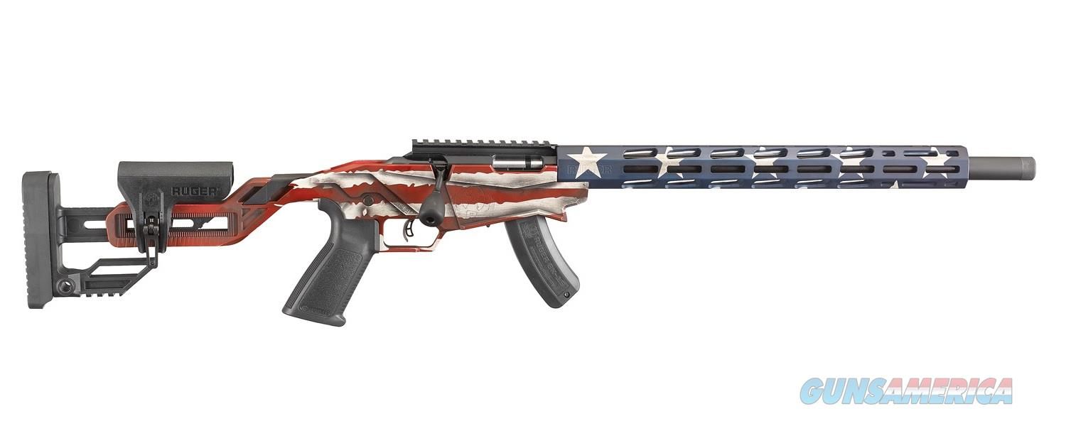 "Ruger Precision Rimfire .22 LR 18"" American Flag 15 Rds 8422   Guns > Rifles > Ruger Rifles > Precision Rifle Series"