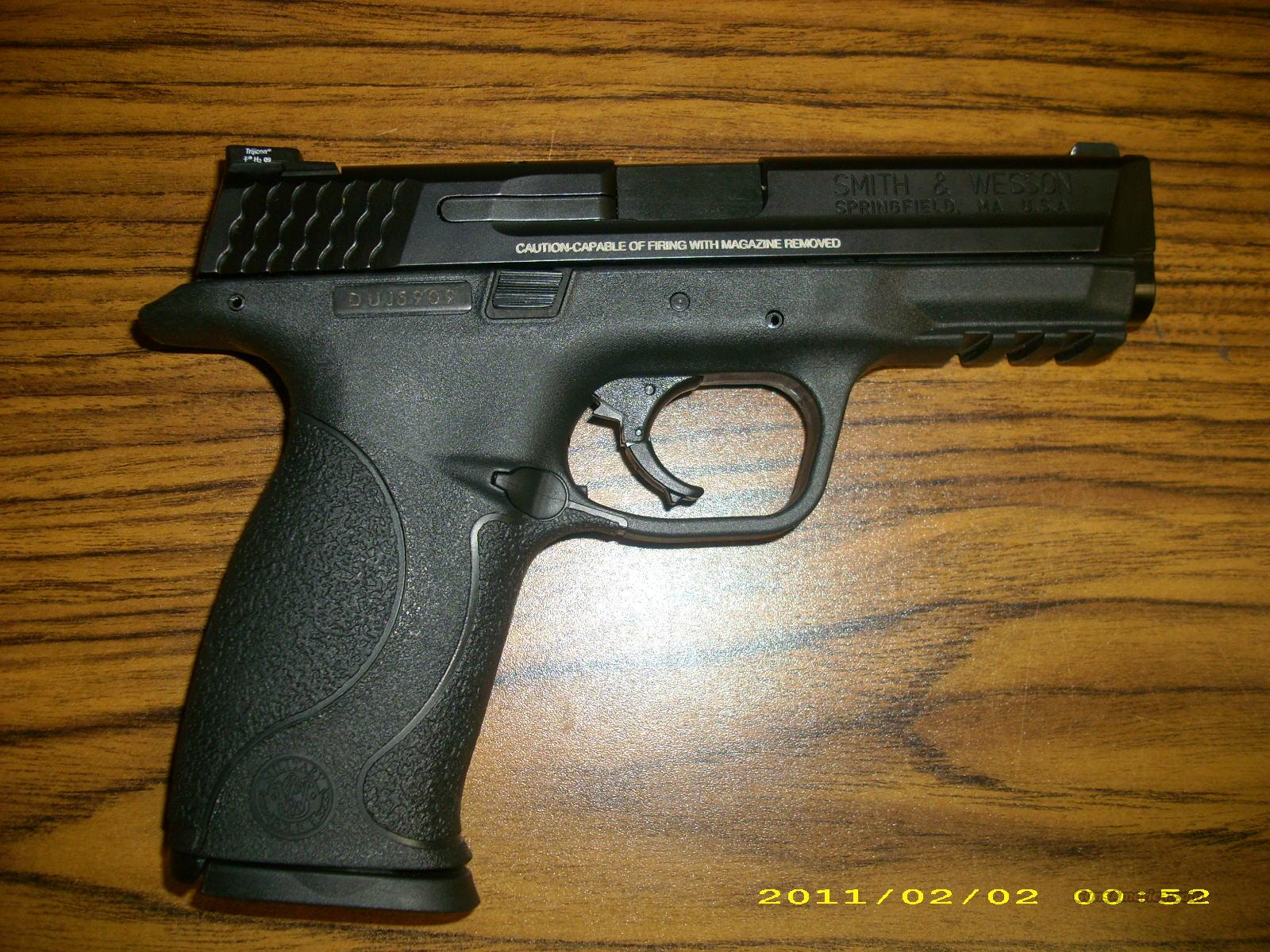 Smith and Wesson M&P 9 Pro Series 9mm  Guns > Pistols > Smith & Wesson Pistols - Autos > Polymer Frame