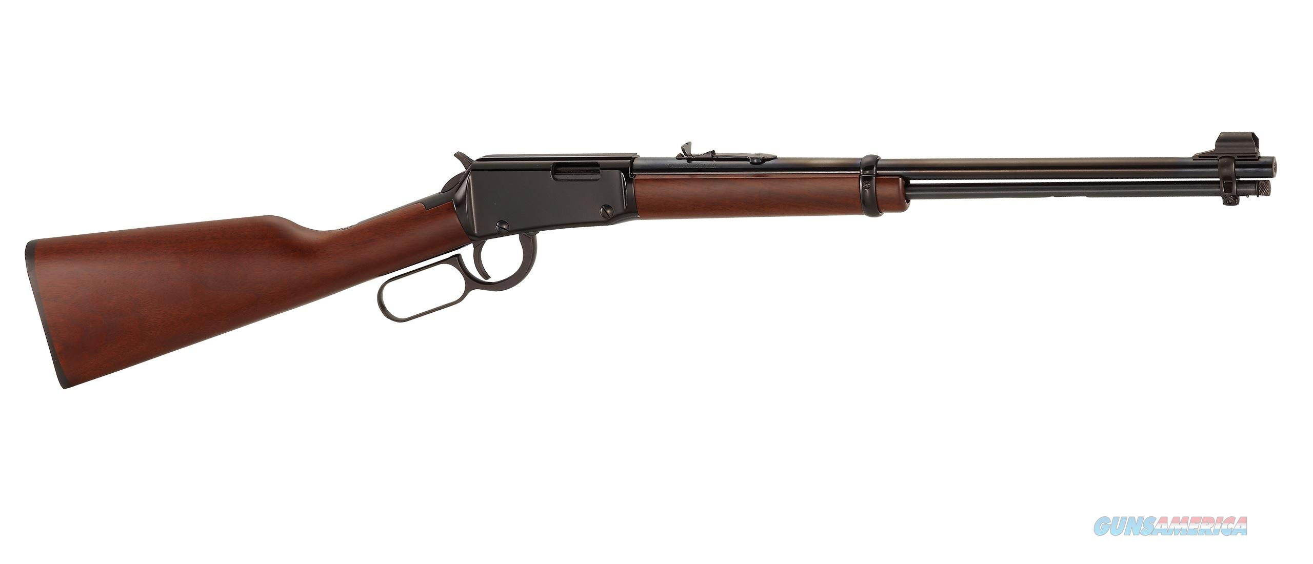 "Henry Classic Lever Action .22 S/L/LR 18.5"" Blued  H001  Guns > Rifles > Henry Rifle Company"