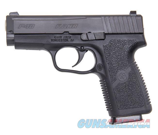 """Kahr Arms P40 .40 S&W 3.6"""" 6 Rds Black KP4044NA   Guns > Pistols > Kahr Pistols"""