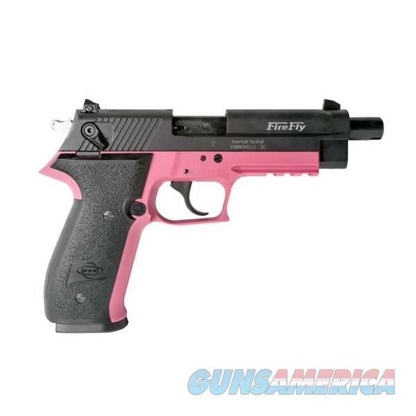 "ATI GSG Firefly HGA Pink/Black .22 LR 4.9"" Threaded GERG2210TFFP   Guns > Pistols > American Tactical Imports Pistols"