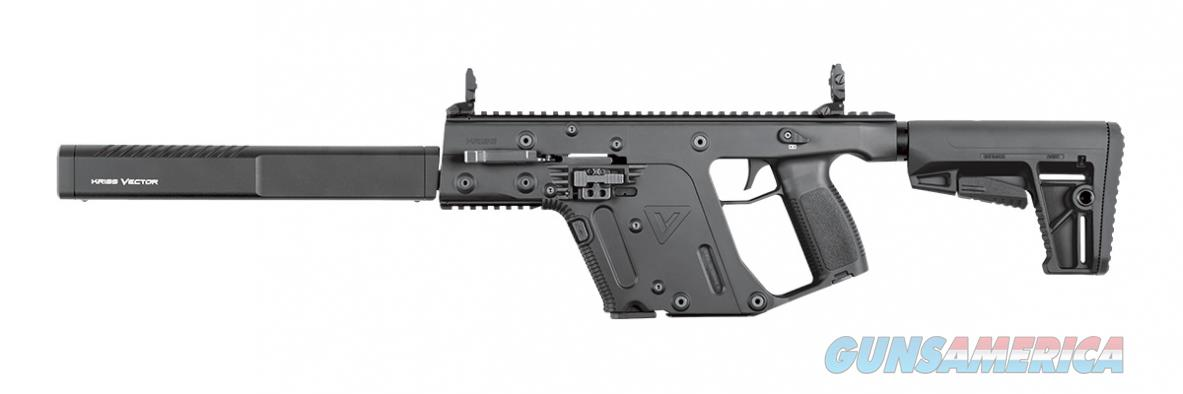 "Kriss Vector Gen II CRB 9mm Black 16"" KV90-CBL20   Guns > Rifles > Kriss Tactical Rifles"