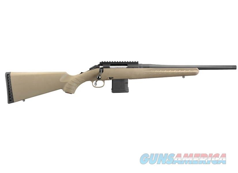 """Ruger American Ranch 5.56 NATO/.223 Rem FDE 16.12"""" Threaded 26965  Guns > Rifles > Ruger Rifles > American Rifle"""