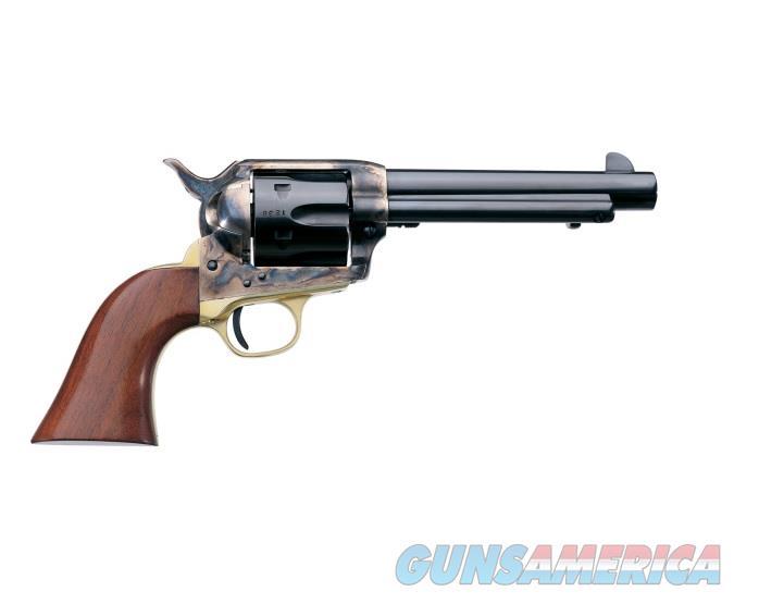 "Uberti 1873 Cattleman Brass .22 LR  7.5"" 6-Shot  356082   Guns > Pistols > Uberti Pistols > Ctg."