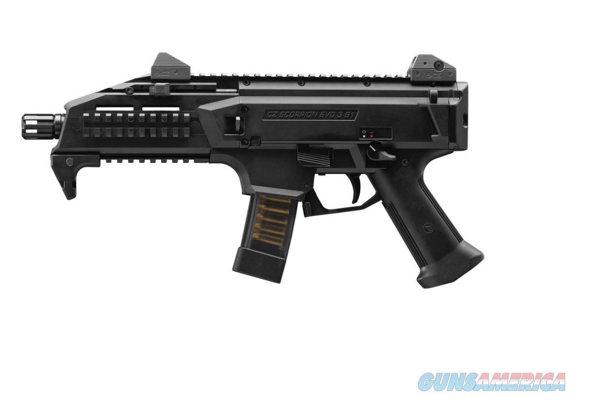 "CZ-USA Scorpion EVO 3 S1 Pistol 9mm 7.72"" TB 91351   Guns > Pistols > CZ Pistols"