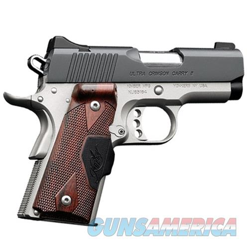 "Kimber Ultra Crimson Carry II 45 ACP 3"" Crimson Trace 3200191   Guns > Pistols > Kimber of America Pistols"