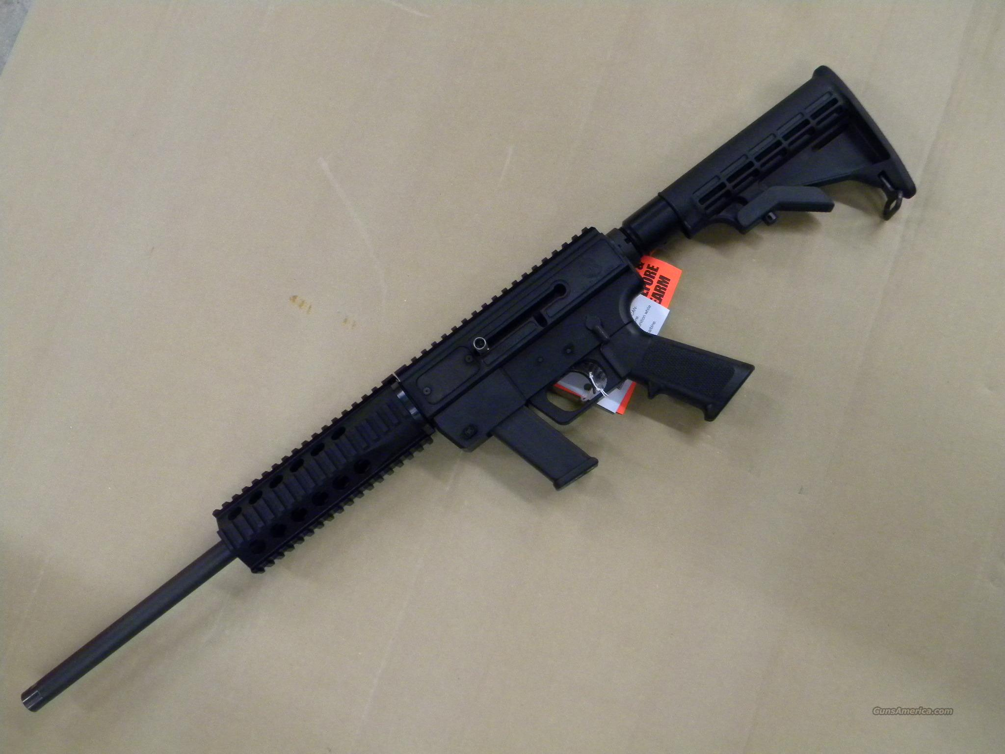 Just Right Carbine 40 S&W AR15 utilizes Glock Mags  Guns > Rifles > IJ Misc Rifles