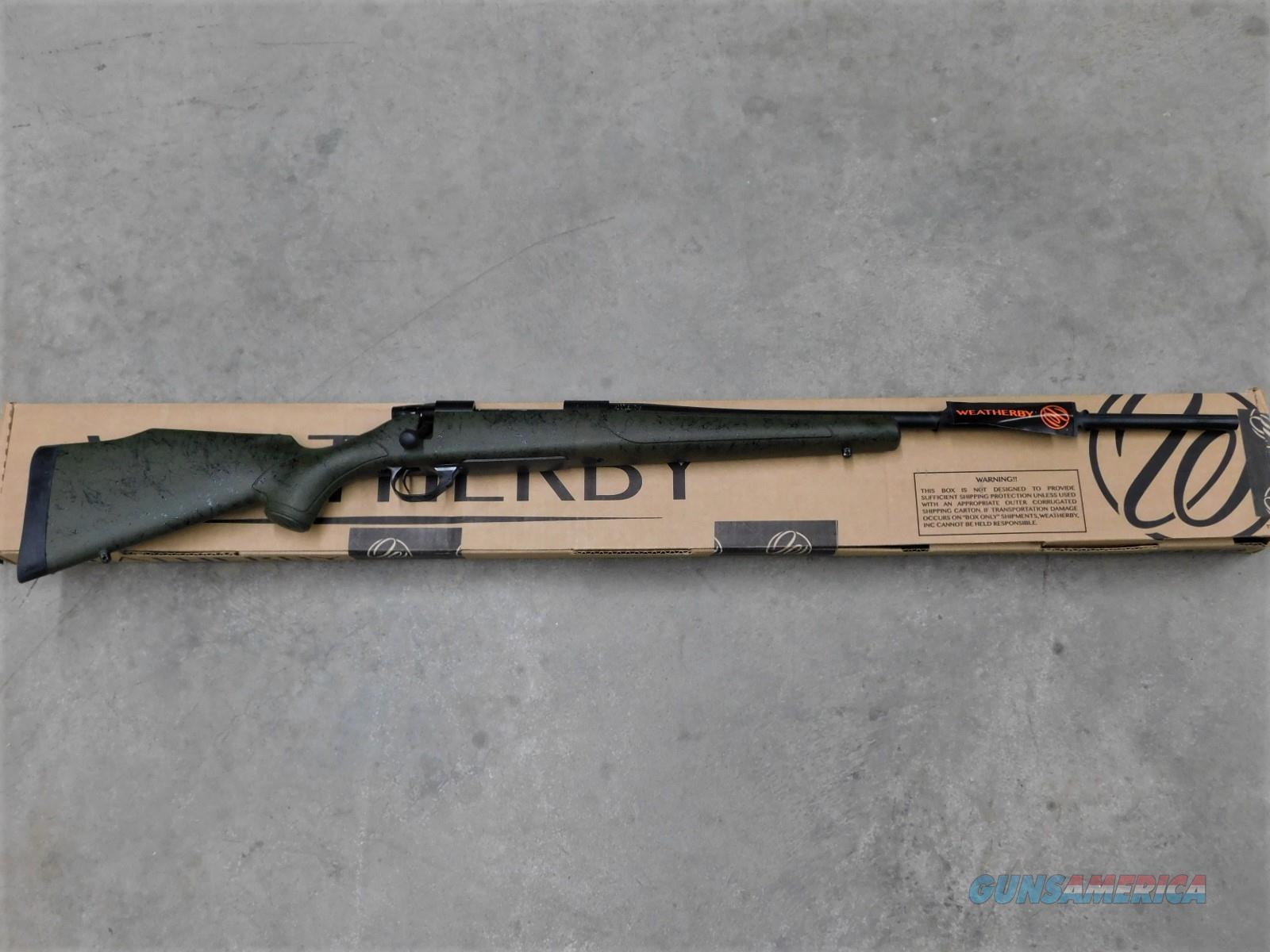"Weatherby Vanguard .300 Wby 24"" Green/Black VGM300WR4O   Guns > Rifles > Weatherby Rifles > Sporting"