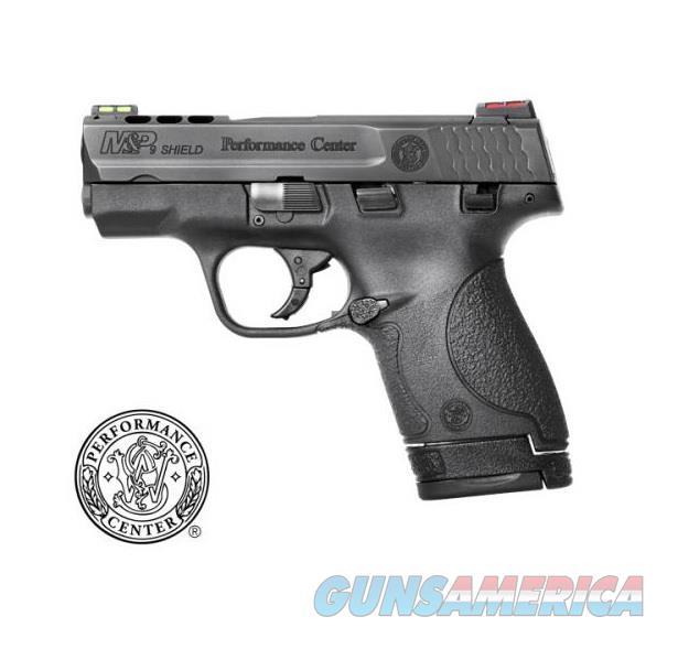 "Smith & Wesson PC Ported M&P9 SHIELD 9mm 3.1"" HI-VIZ 10108  Guns > Pistols > Smith & Wesson Pistols - Autos > Shield"