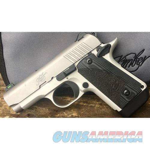 "Kimber Micro 9 Stainless FO Carry 9MM 3.15"" 3300179   Guns > Pistols > Kimber of America Pistols > Micro 9"