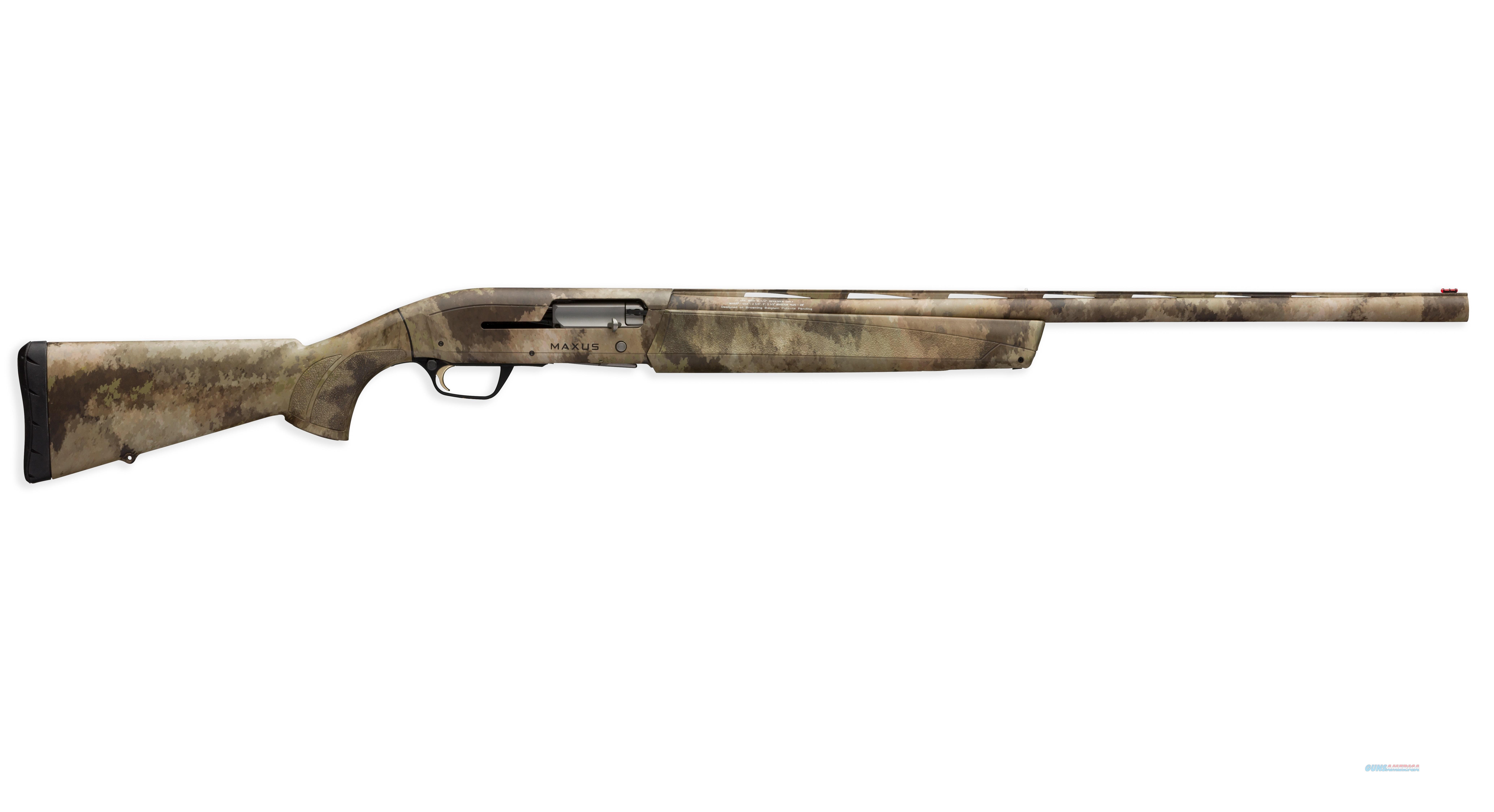 "Browning Maxus A-TACS AU Camo 12 Gauge 28"" 011669204   Guns > Shotguns > Browning Shotguns > Autoloaders > Hunting"