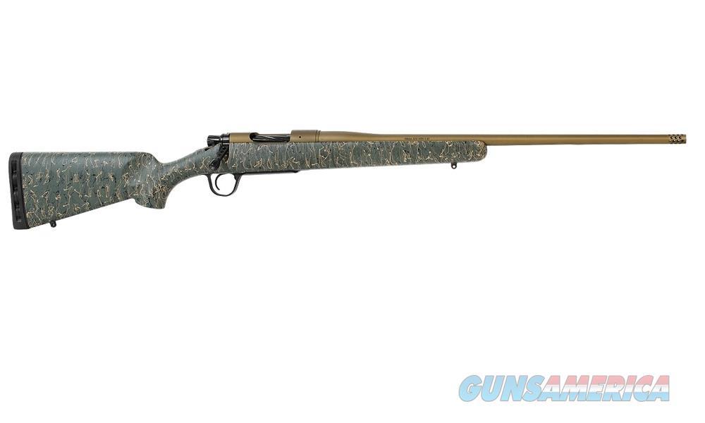 """Christensen Arms Mesa 6.5 Creed 22"""" Burnt Bronze Green Stock 801-01013-00  Guns > Rifles > Custom Rifles > Bolt Action"""