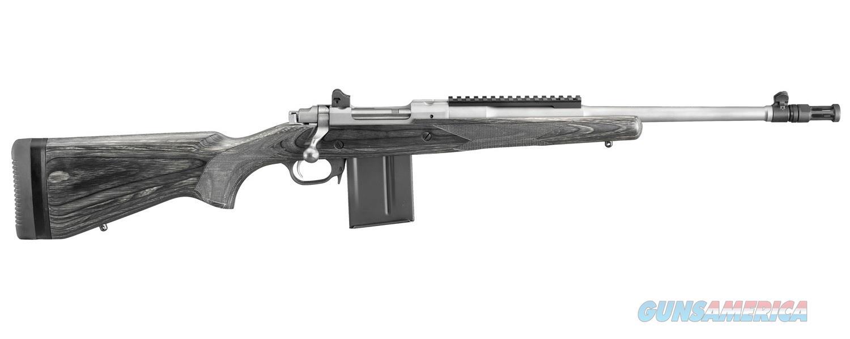 Ruger Gunsite Scout .308 Win Black Laminate 6822  Guns > Rifles > Ruger Rifles > Model 77
