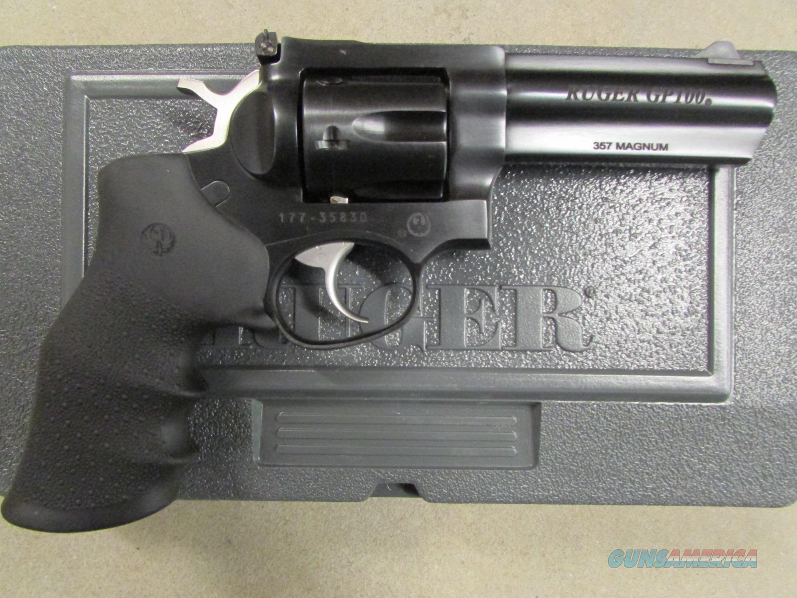 "Ruger GP100 Double-Action Blued 4.2"" .357 Magnum 1702  Guns > Pistols > Ruger Double Action Revolver > Security Six Type"