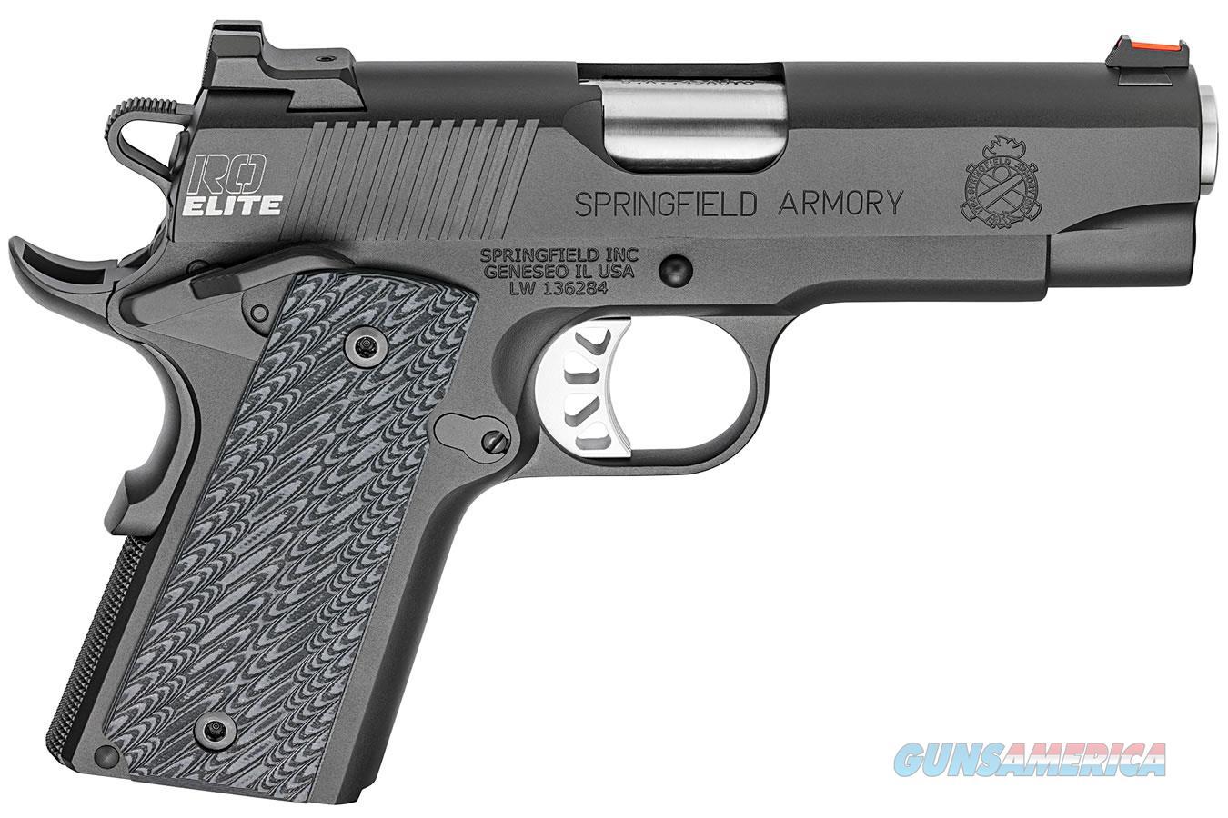 "Springfield 1911 Range Officer Elite Compact .45 ACP 4"" PI9126E   Guns > Pistols > Springfield Armory Pistols > 1911 Type"