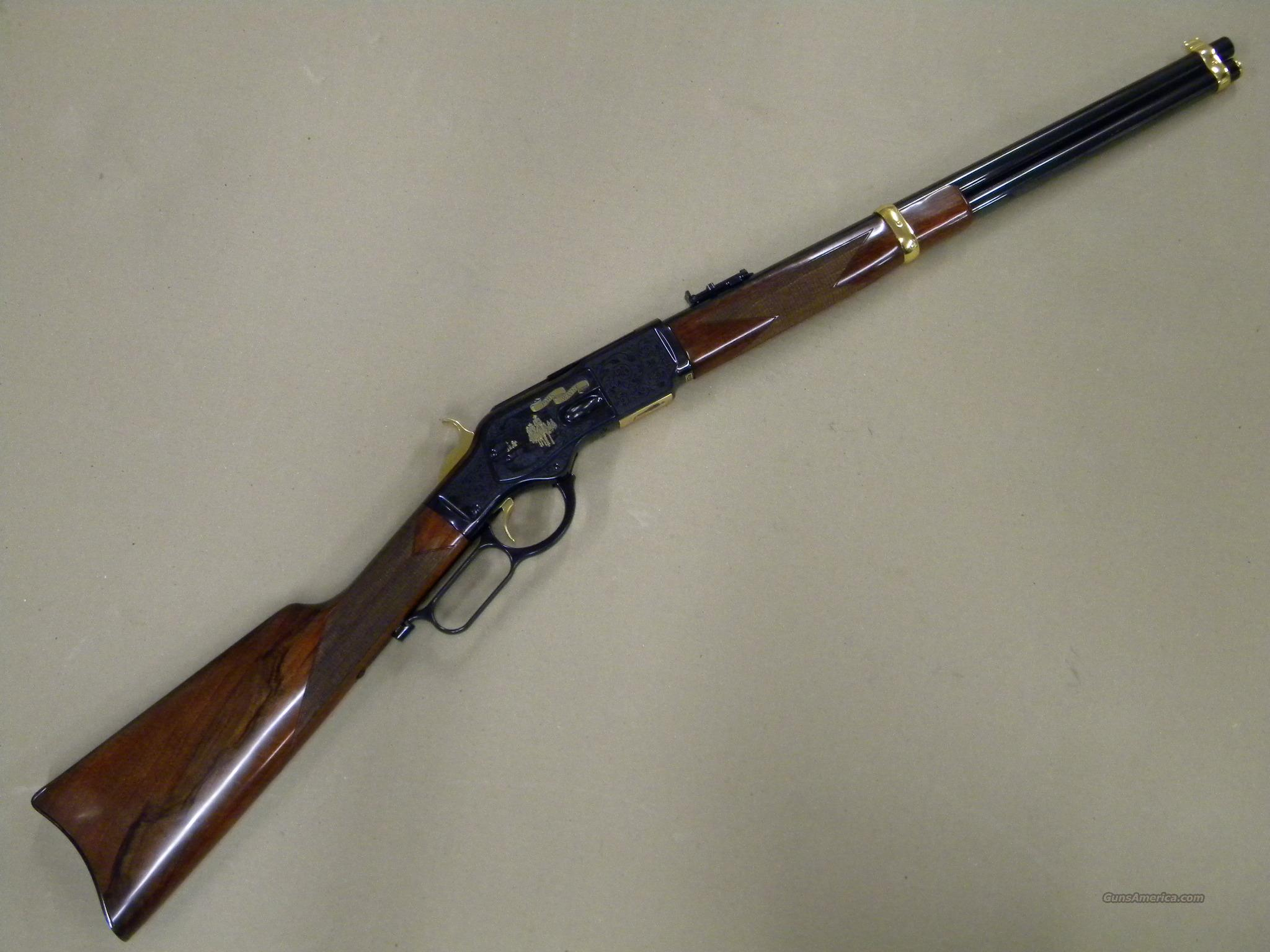 Uberti John Wayne Tribute Rifle Winchester Model 1873 .45 Colt  Guns > Rifles > Uberti Rifles > Lever Action