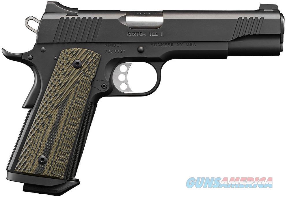 "Kimber Custom TLE II (EM) .45 ACP 5"" 7 Rds 3200369   Guns > Pistols > Kimber of America Pistols"