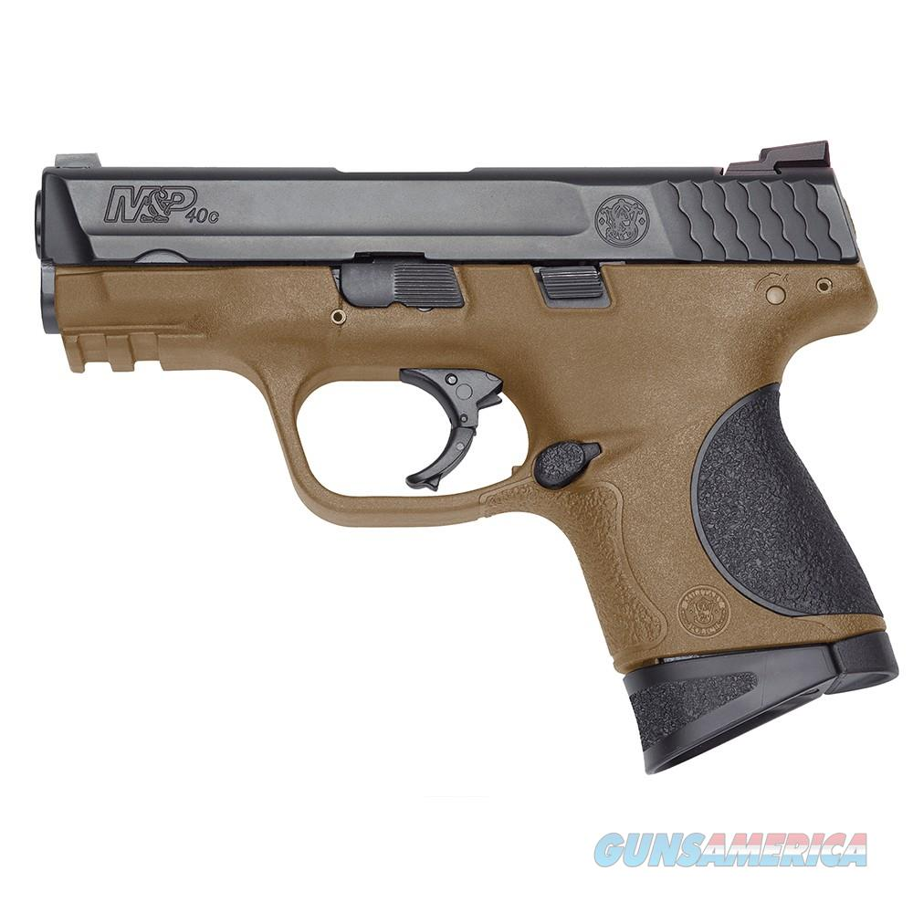 "Smith & Wesson M&P40c .40 S&W Flat Dark Earth 3.5"" 10190   Guns > Pistols > Smith & Wesson Pistols - Autos > Polymer Frame"