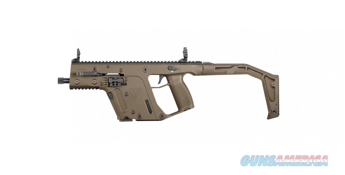 KRISS VECTOR Gen II SBR .45 AUTO FDE KV45-SFD20  Guns > Rifles > Class 3 Rifles > Class 3 Subguns