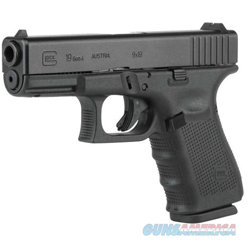 "Glock G19 Gen4 9mm TALO Exclusive 4.02"" 15 Rds UG1950503   Guns > Pistols > Glock Pistols > 19/19X"
