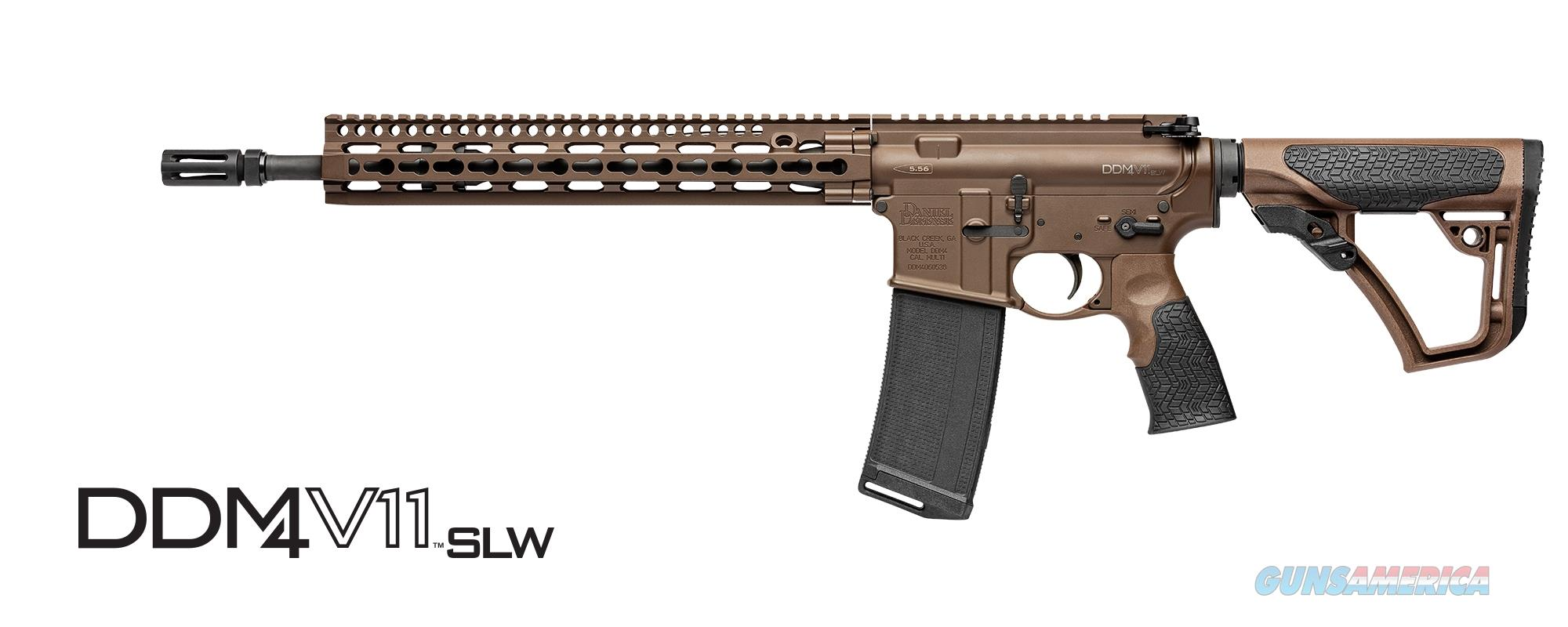 Daniel Defense DDM4V11 SLW Mil Spec+ 5.56mm 02-151-08188-047  Guns > Rifles > Daniel Defense > Complete Rifles