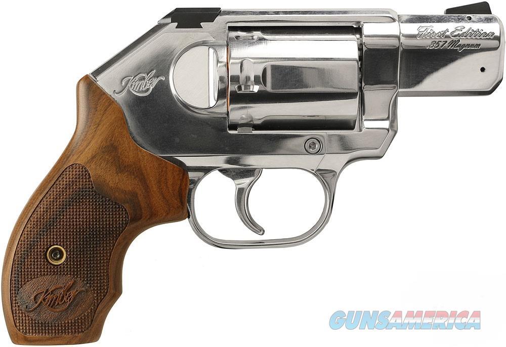 "Kimber K6s First Edition .357 Mag Stainless 2"" 3400001   Guns > Pistols > Kimber of America Pistols > Revolvers"