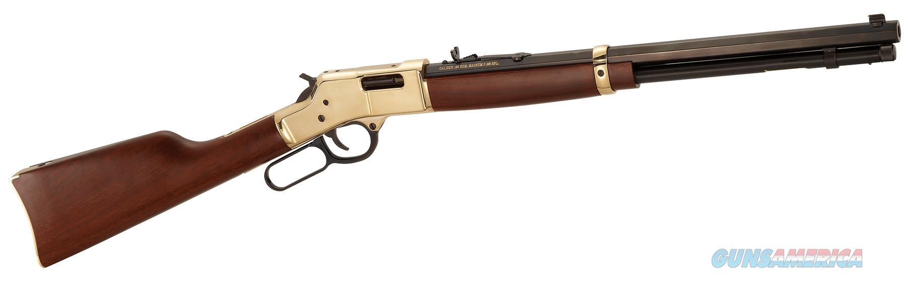 "Henry Big Boy Brass .41 Magnum 20"" Octagon 10 Rds H006M41   Guns > Rifles > Henry Rifle Company"
