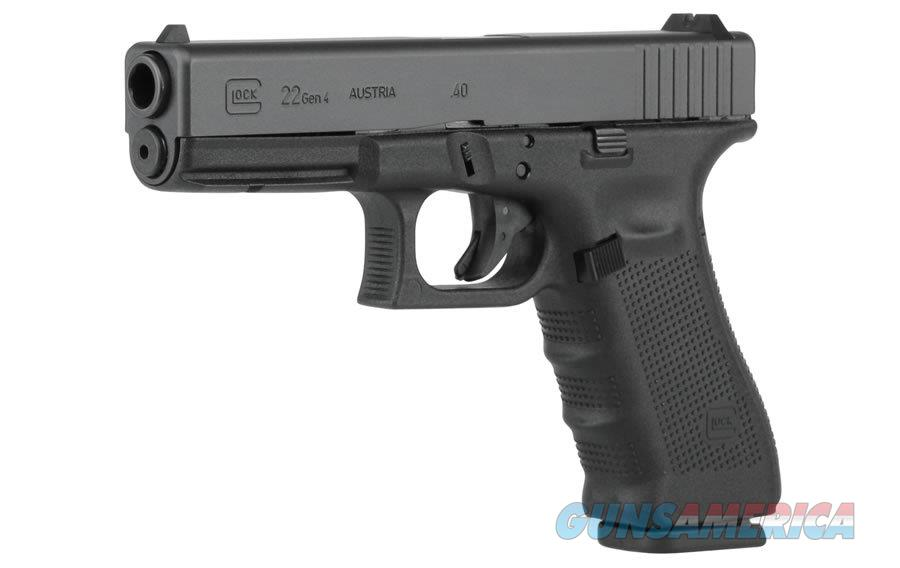 "Glock G22 GEN4 .40 S&W 4.49"" Black 15 Rds PG2250203   Guns > Pistols > Glock Pistols > 22"