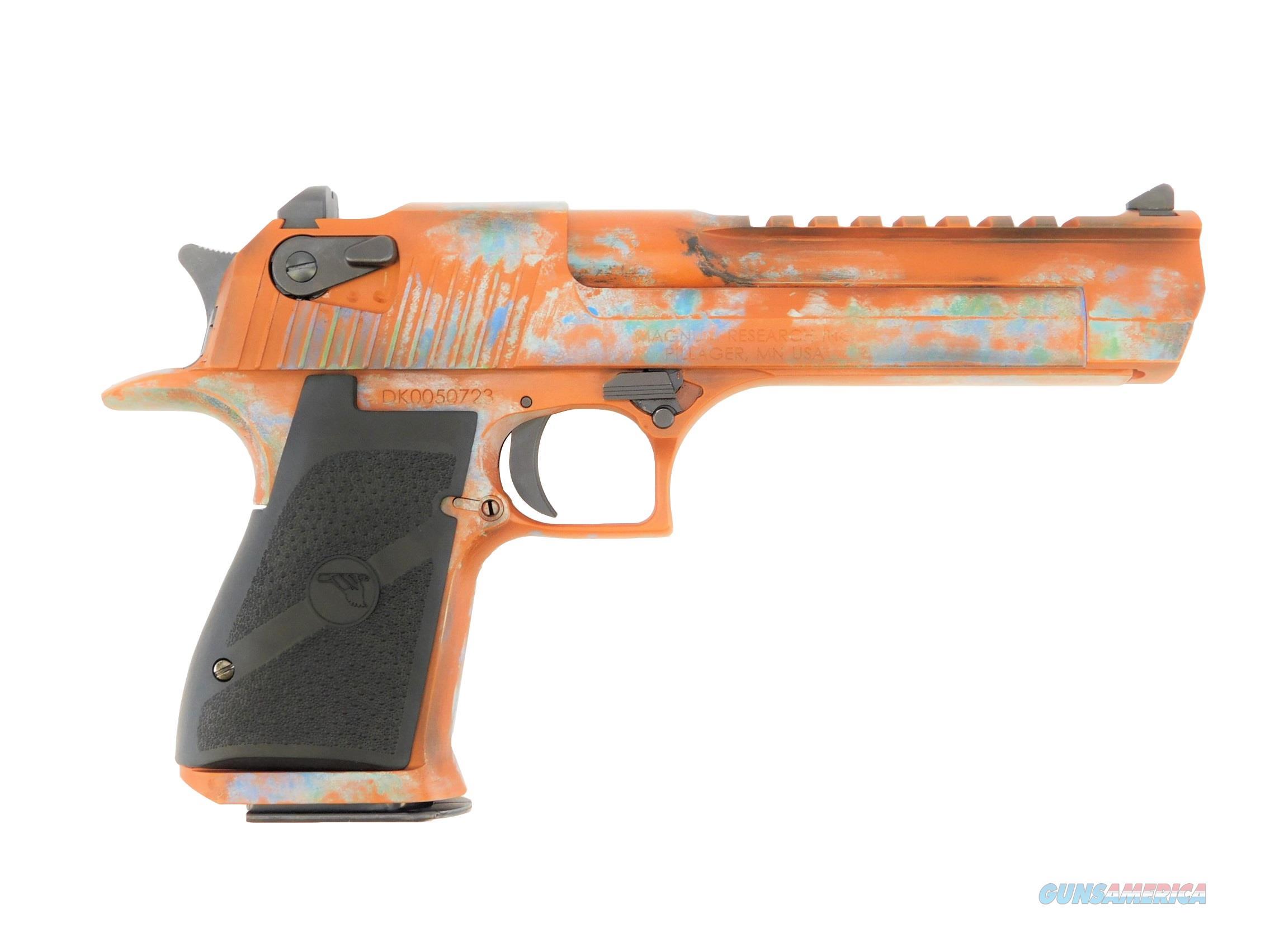 "Desert Eagle 6"" .50 AE Custom Copper Patina Cerakote  Guns > Pistols > Magnum Research Pistols"