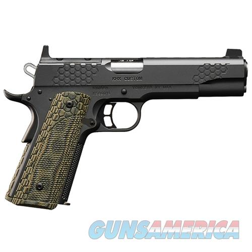 "Kimber KHX Custom (OR) .45 ACP 5"" 8 Rds Optics Ready 3000360  Guns > Pistols > Kimber of America Pistols > 1911"